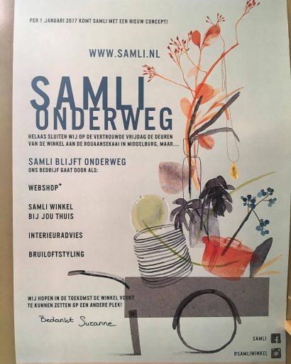 Afbeelding #000 voor het verhaal SamLi Middelburg gaat verder als webshop