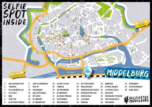 Afbeelding #000 voor het verhaal Selfie Stad Middelburg is aan!