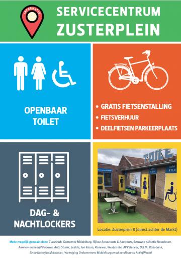 Afbeelding #000 voor het verhaal Servicecentrum Zusterplein Middelburg vanaf maart weer alle dagen open