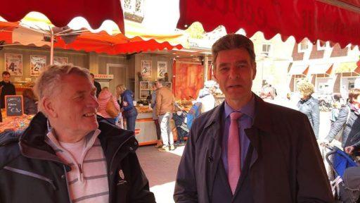 Afbeelding #000 voor het verhaal Sjaak van den Berg en Chris Dekker over Koningsdag 2018 in Middelburg