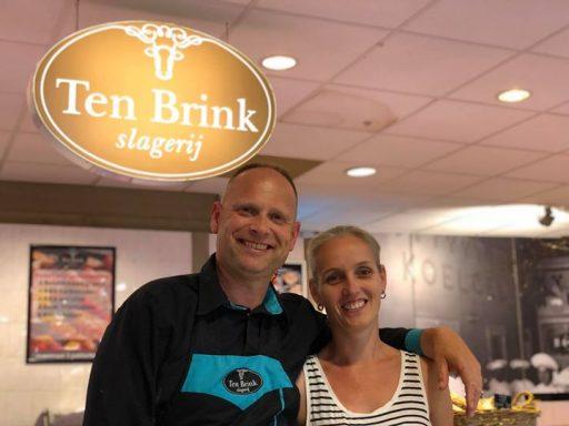 Afbeelding #000 voor het verhaal Slagerij Ten Brink verhuist van de Langeviele naar Damplein 12