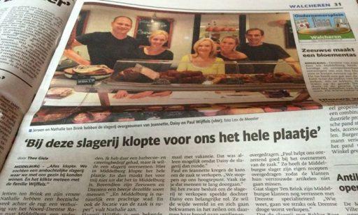 Afbeelding #000 voor het verhaal Slagerij Wijffels stopt