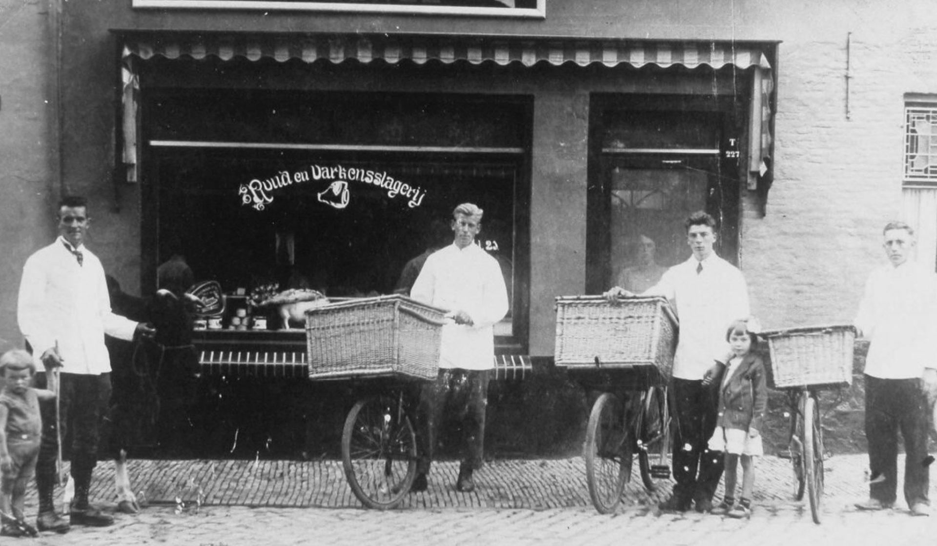 Afbeelding #000 voor het verhaal Snuffelen in de geschiedenis van de slagerij aan de Veersesingel in Middelburg