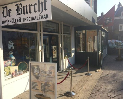Afbeelding #003 voor het verhaal Spijtig: Spellenwinkel De Burcht gaat stoppen