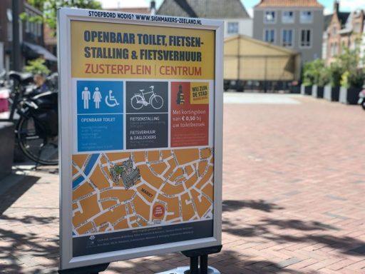 Afbeelding #000 voor het verhaal Stand van zaken fietsenstalling en openbare toiletten Zusterplein