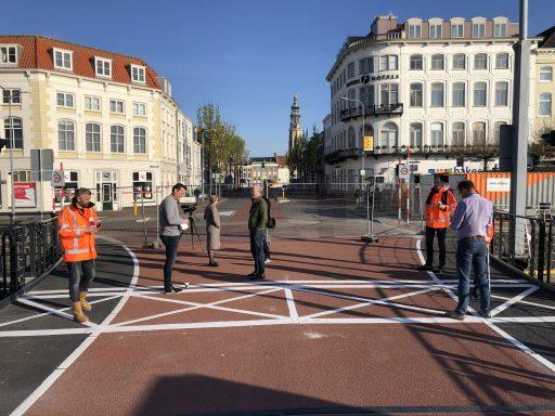 Afbeelding #002 voor het verhaal Stationsbrug Middelburg heropend voor het publiek