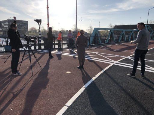 Afbeelding #003 voor het verhaal Stationsbrug Middelburg heropend voor het publiek
