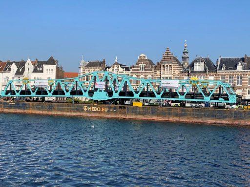 Afbeelding #000 voor het verhaal Stationsbrug Middelburg is weer thuis