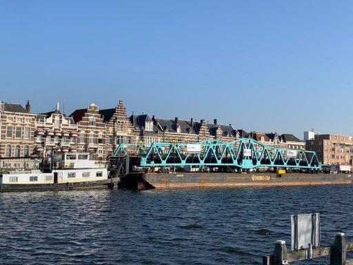 Afbeelding #003 voor het verhaal Stationsbrug Middelburg is weer thuis