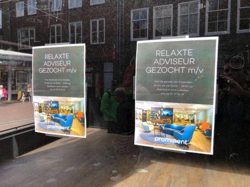 Afbeelding #000 voor het verhaal Stoelenwinkel Prominent tijdelijk in de Lange Delft in Middelburg