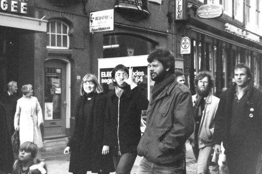 Afbeelding #001 voor het verhaal Stop de Neutronenbom! Een demonstratie in Middelburg, 1982