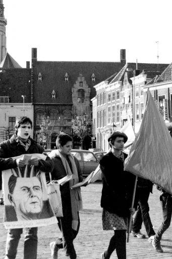Afbeelding #002 voor het verhaal Stop de Neutronenbom! Een demonstratie in Middelburg, 1982