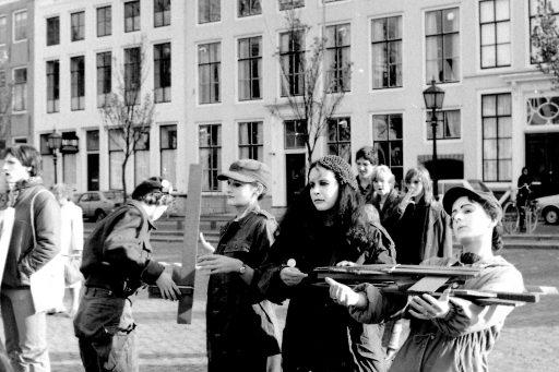 Afbeelding #003 voor het verhaal Stop de Neutronenbom! Een demonstratie in Middelburg, 1982