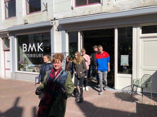 Afbeelding #000 voor het verhaal Studenten Scalda bezoeken ondernemers in Middelburgse binnenstad
