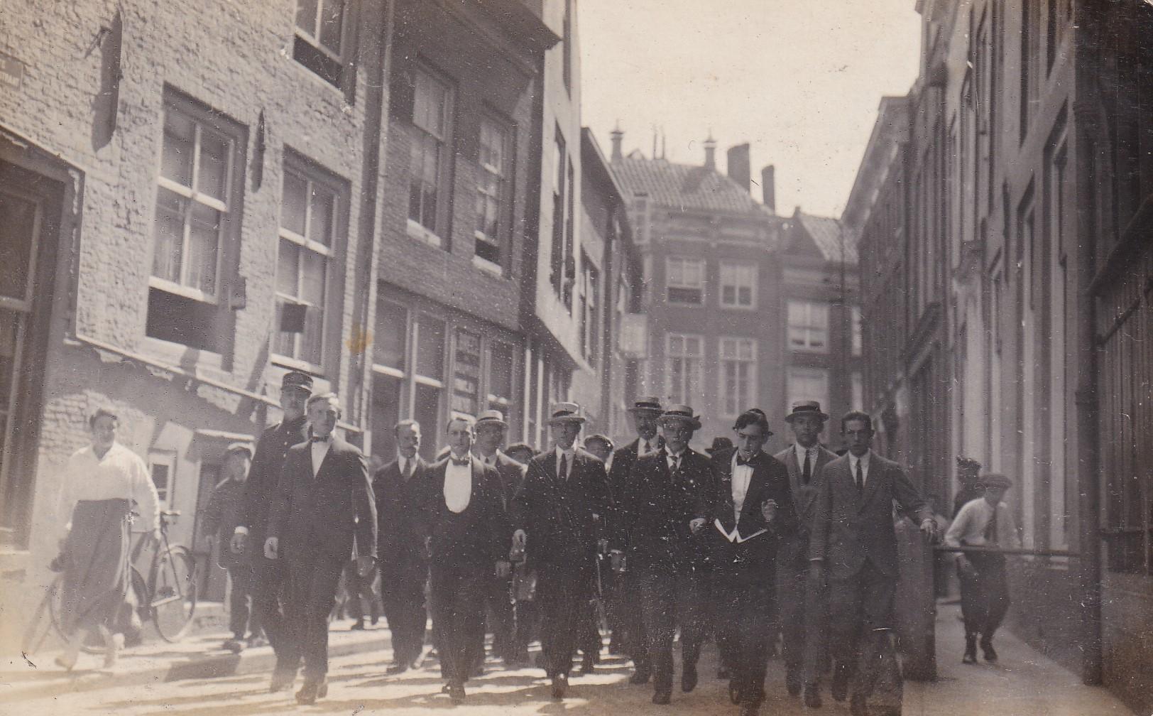Afbeelding #000 voor het verhaal Sylvain Boekbinder begoochelt Middelburg, 1919