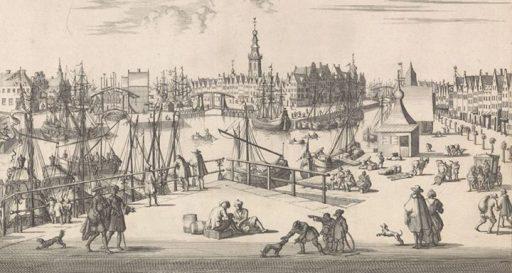 Afbeelding #000 voor het verhaal 't Gesight van de Oostpunt Middelburg, 1696