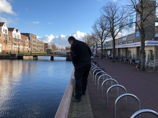 Afbeelding #000 voor het verhaal Tegels voetgangersgebied Pottenbakkerssingel worden vervangen