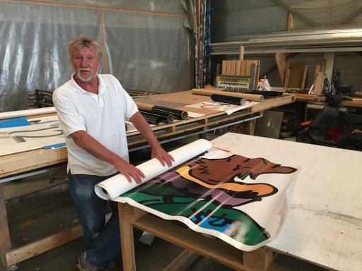 Afbeelding #000 voor het verhaal Theo Krüse, van TeKa Reklame, gaat met pensioen