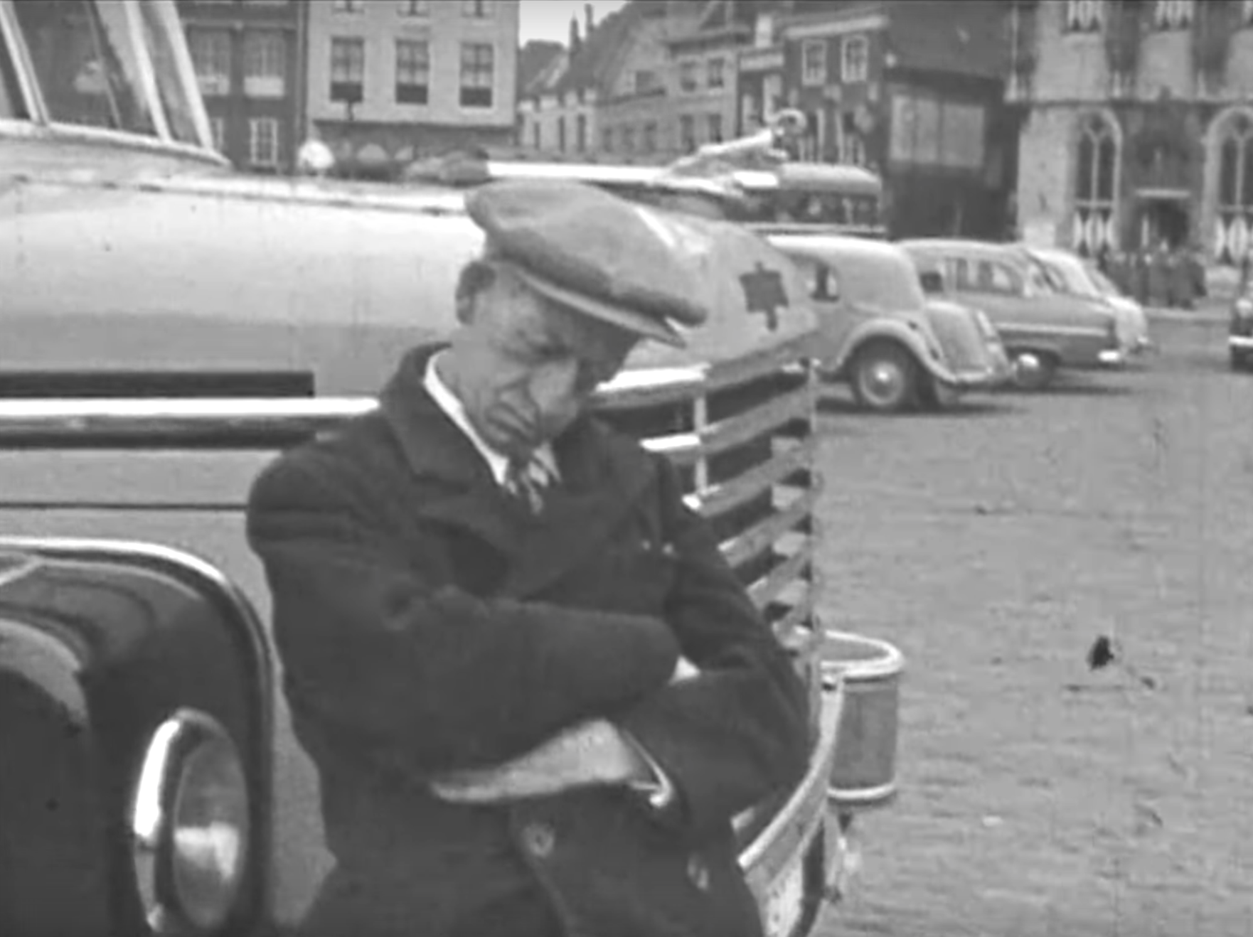 Afbeelding #000 voor het verhaal Trugkieke: de sloop van de Graanbeurs en Lange Giststraat in Middelburg