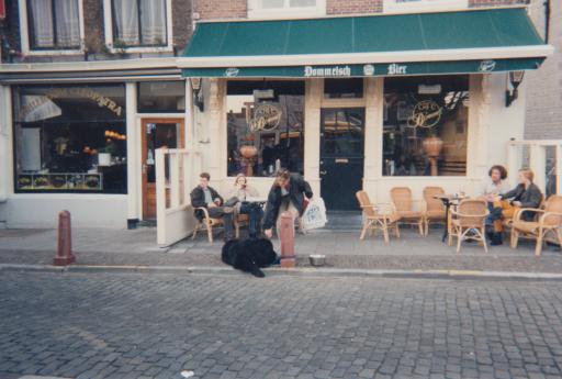 Afbeelding #001 voor het verhaal Uit de geschiedenis van Café Tympaan in Middelburg, 1993-2002