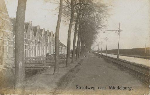 Afbeelding #000 voor het verhaal Uit de geschiedenis van de Nieuwe Vlissingseweg in Middelburg