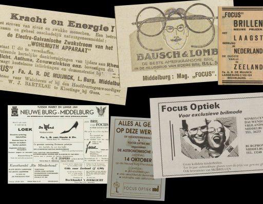Afbeelding #002 voor het verhaal Uit de geschiedenis van Focus Optiek