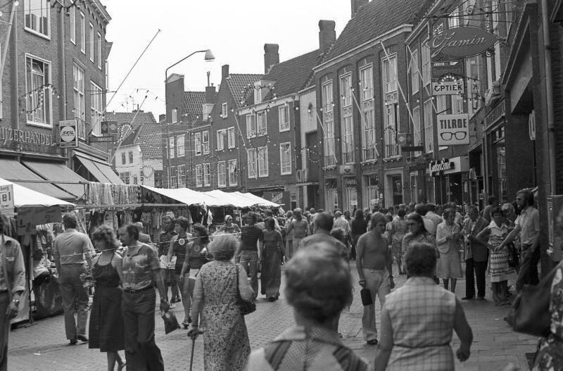 Afbeelding #001 voor het verhaal Uit de Middelburgse geschiedenis: Tilroe in de Lange Delft