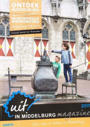 Afbeelding #000 voor het verhaal Uit in Middelburg Magazine 2017 nu overal verkrijgbaar