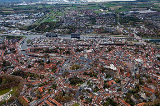Afbeelding #001 voor het verhaal Up from the skies: Middelburg