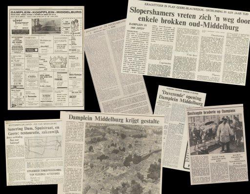 Afbeelding #000 voor het verhaal Van Lange Giststraat naar Damplein: Middelburg 1965-1972