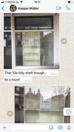 Afbeelding #001 voor het verhaal Van winkelkast tot kunstobject: het interessante tweede leven van een Billy