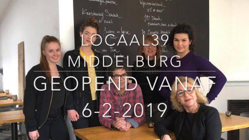 Afbeelding #000 voor het verhaal Vanaf 6 februari geopend in Middelburg: Locaal39