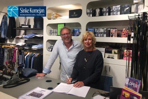 Afbeelding #000 voor het verhaal Verkocht! Henk Sies Mode wordt Stretch Fashion