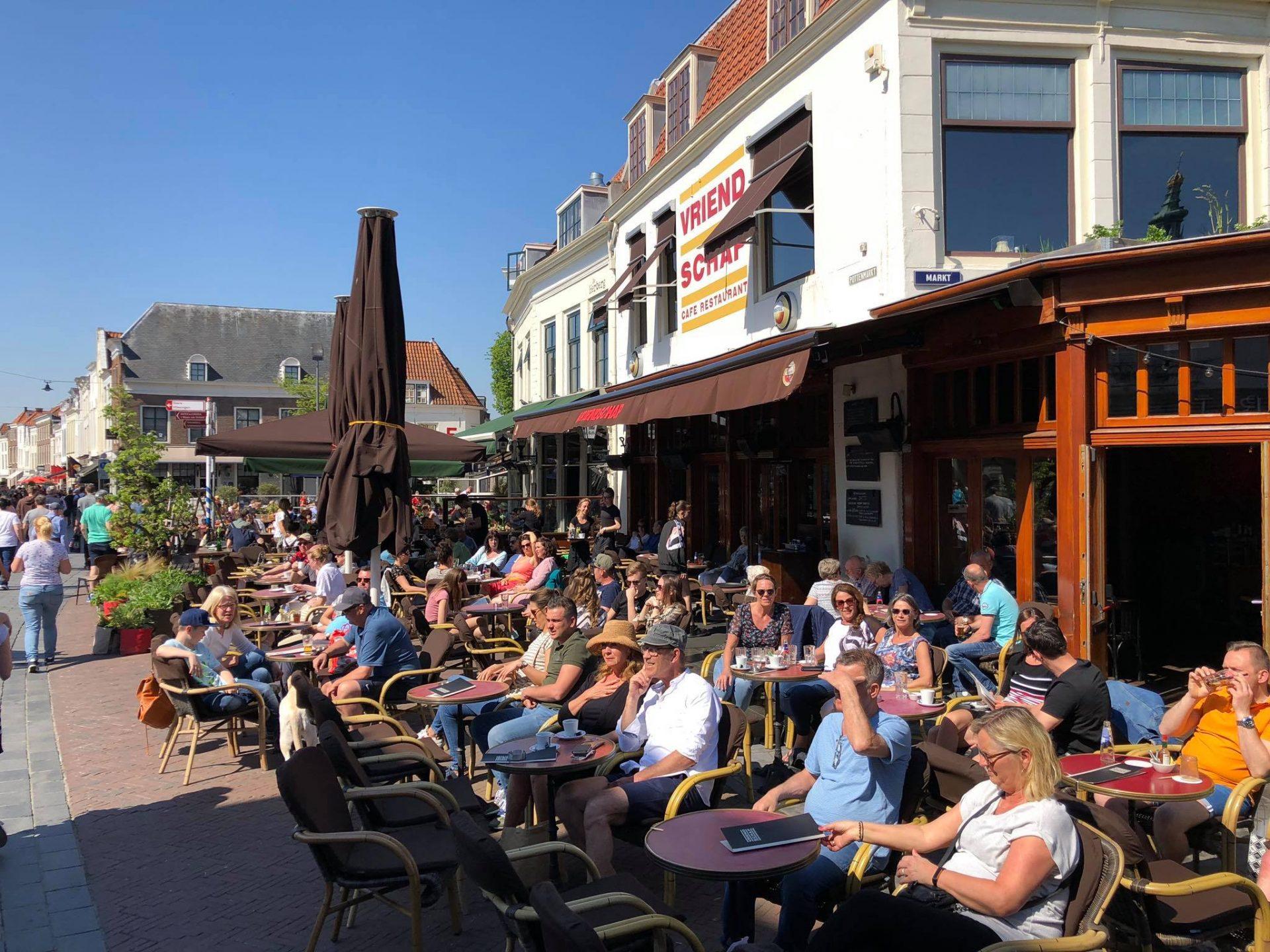Afbeelding #000 voor het verhaal Verlangen naar volle Middelburgse terrassen