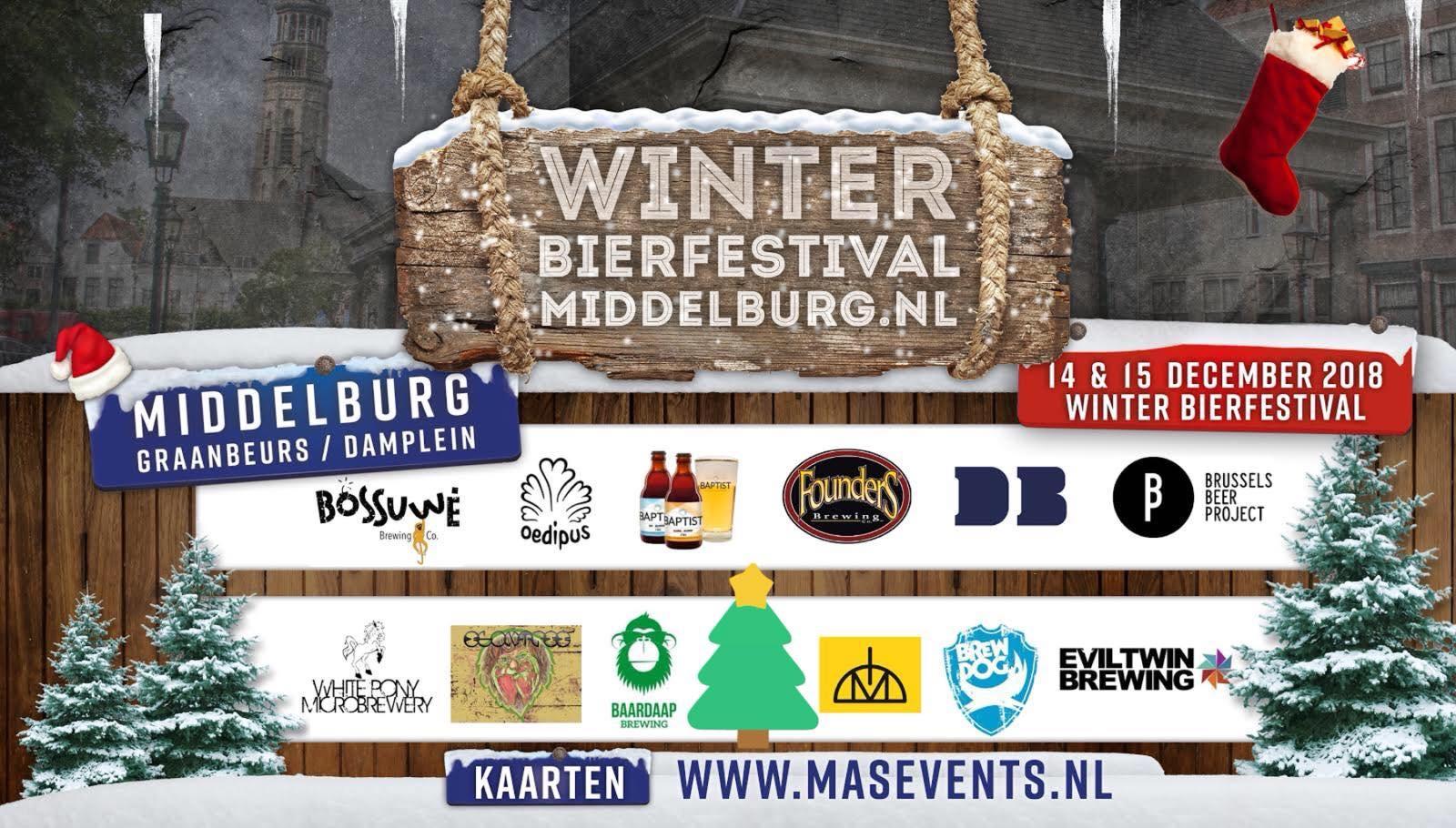 Afbeelding #000 voor het verhaal Verloting: 5 x 2 gratis toegangskaarten voor het Winter Bierfestival in Middelburg