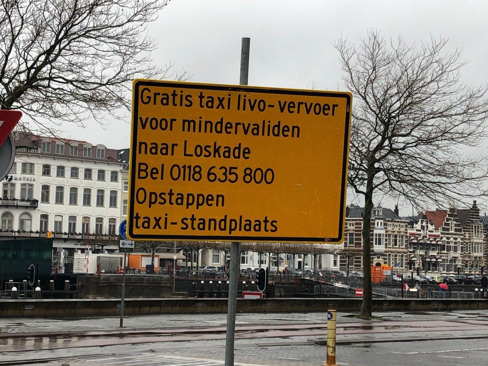Afbeelding #000 voor het verhaal Vervoer Station-Loskade Middelburg tijdens renovatie Stationsbrug