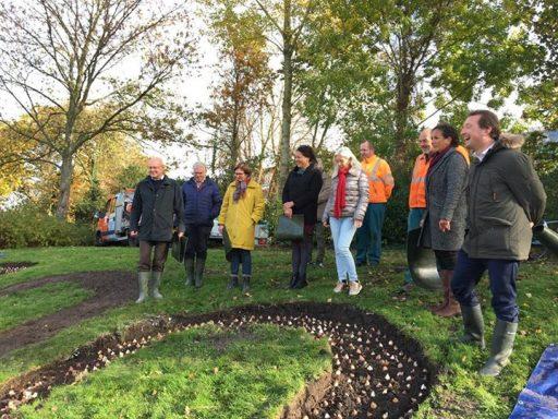 Afbeelding #000 voor het verhaal Video: bloembollen planten voor Middelburg 800