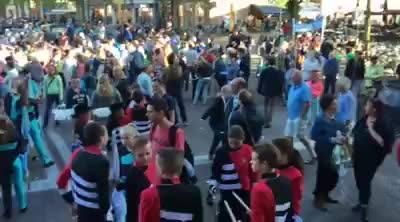 Afbeelding #000 voor het verhaal Video: de afsluiting van de avondvierdaagse Middelburg 2016