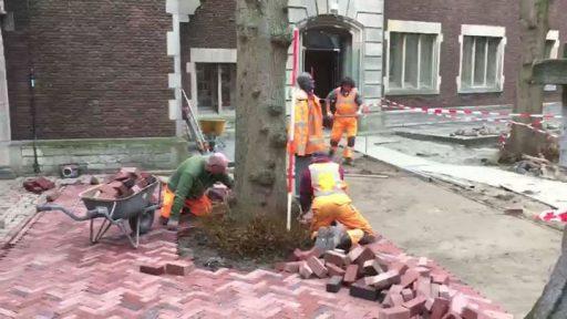 Afbeelding #000 voor het verhaal Video: de herinrichting van de Helm in Middelburg, februari 2017