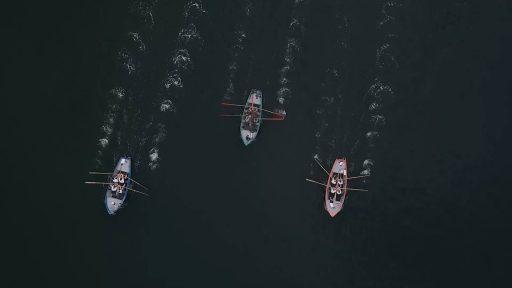Afbeelding #000 voor het verhaal Video: de roeiwedstrijden van Waterscouting Paul Kruger Middelburg