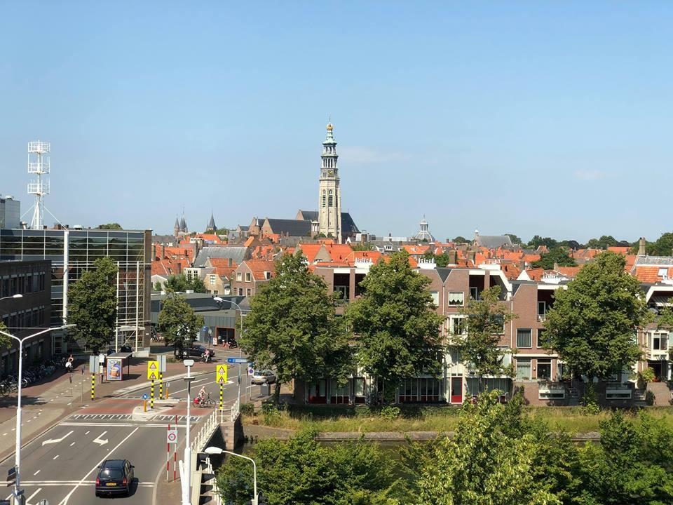 Afbeelding #000 voor het verhaal Video: het nieuwe gebouw van de HZ in Middelburg