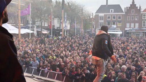 Afbeelding #000 voor het verhaal Video: Kraantje Pappie Markt Middelburg Koningsdag 2017