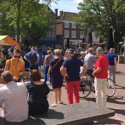 Afbeelding #000 voor het verhaal Video: Markt Middelburg 9 juli, 11.46 uur
