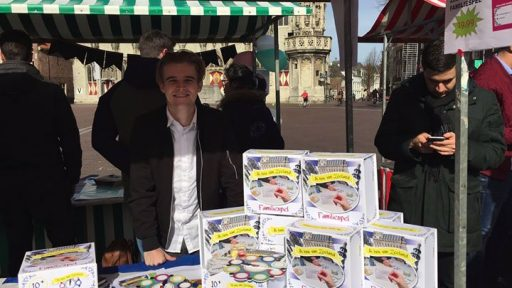 Afbeelding #000 voor het verhaal Video: Marktdag Jong Ondernemen Middelburg 2017