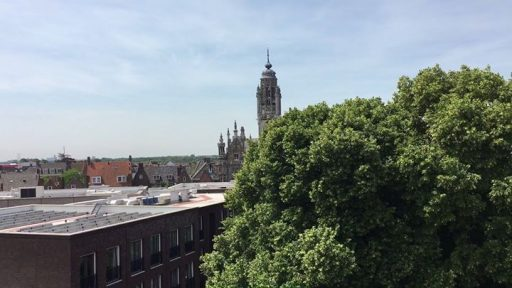 Afbeelding #000 voor het verhaal Video: Middelburg gezien vanaf voormalig hotel De Burg