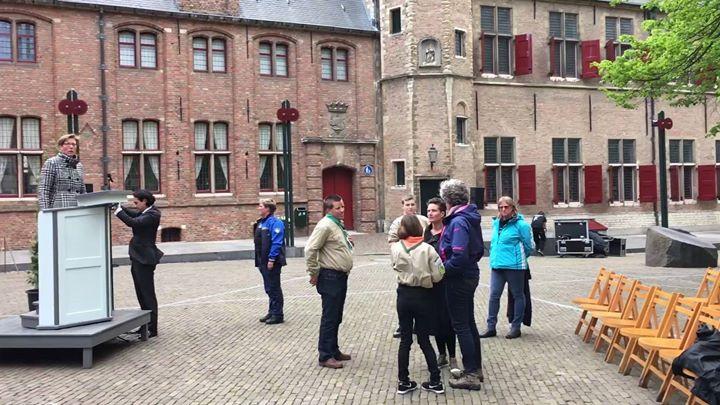 Afbeelding #000 voor het verhaal Voorbereiding dodenherdenking Middelburg, 4 mei 2017
