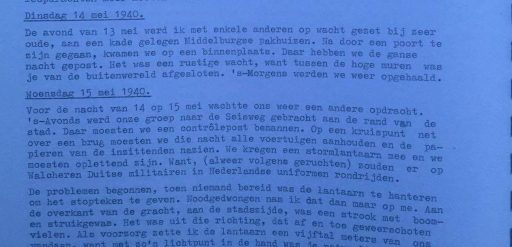 Afbeelding #000 voor het verhaal Vragen over Middelburg in mei 1940