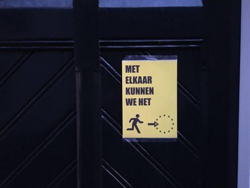 Afbeelding #004 voor het verhaal Vrijheidsinitiatief kleurt Middelburg geel op 21 april.