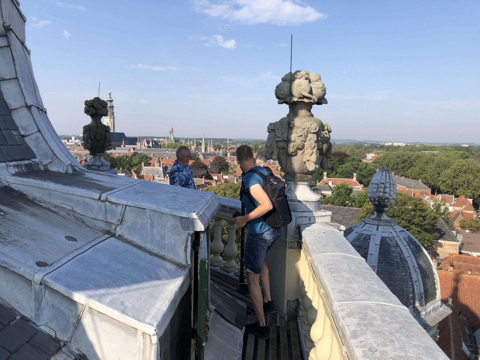 Afbeelding #000 voor het verhaal Wat een attractie! De beklimming van de Oostkerk in Middelburg