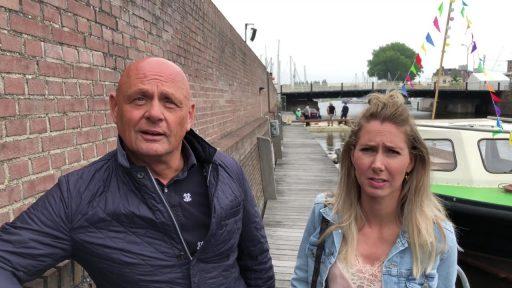 Afbeelding #000 voor het verhaal Watersportdagen 2018: Dick en Anne-Sophie over de Eendjesrace